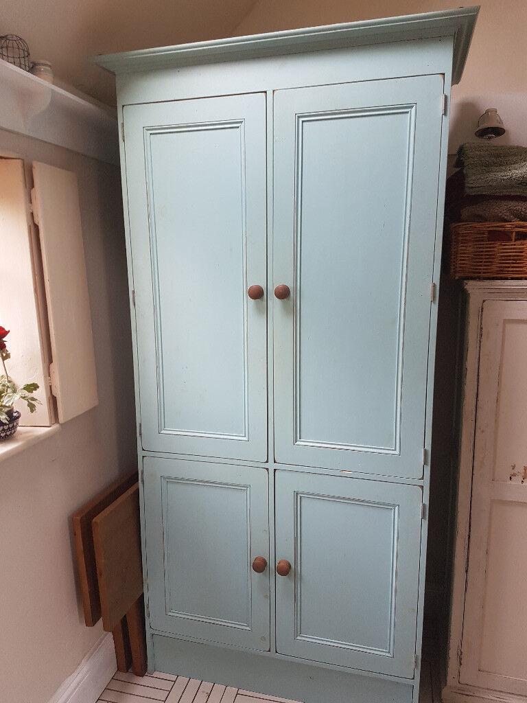 Shabby Chic Duck Egg Blue Kitchen Larder | in Hull, East Yorkshire ...
