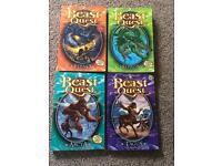Beast Quest books 1,2,3,4