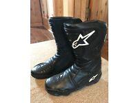 Alpine star motorbike boots - woman's size 7