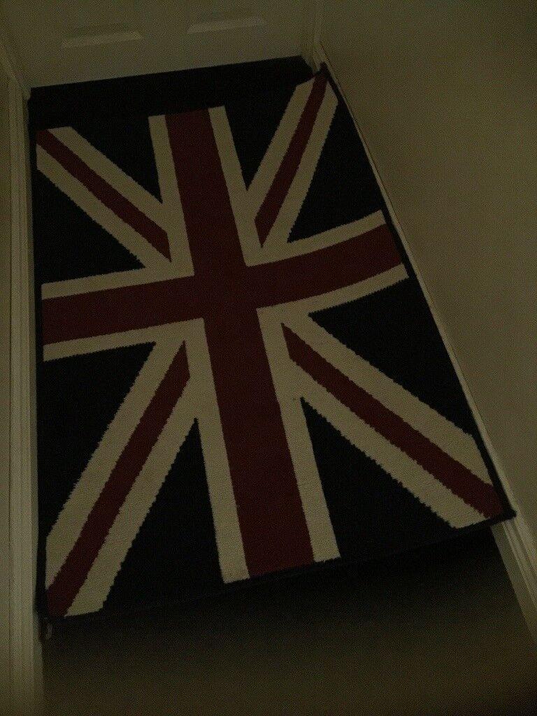 Union Jack Rug Cushion Image 1 Of 3