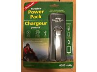 Power Pack with Solar Panel and Crank
