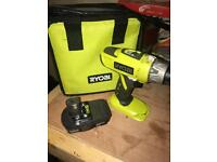 Ryobi one+ 18v 2 speed hammer drill OPEN TO OFFERS