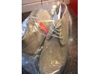 New - JOE FRESH Mens Faux Suede Casual Retro Chukka Lace Desert Boots Colour:Sand, Size: 10