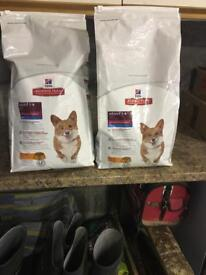 Hills Science plan dog food adult mini 1-6 approx 10.5kg