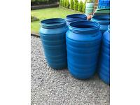 200-220L. Plastic barrels, drums for water Storage and shipping staff