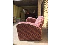Scandecor Art Deco Sofa