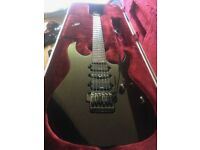 Ibanez Prestige RG1570 + Hardcase Mirage Red Made in Japan, used for sale  Lewisham, London