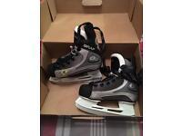 Brand new in box - boys Graf 1001 Ice Skates size 10