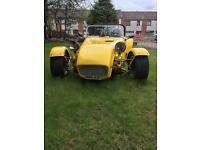 Lotus 7 kit car pinto
