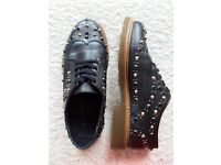 Used Studded Brogues (KG by Kurt Geiger)