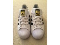 Adidas Superstars Size 4.5
