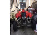 Quad bike road legal 320cc apache