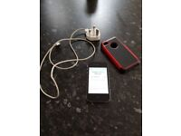 Iphone 4S black with charger unlocked