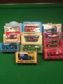 Still in box toy cars