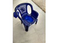 Plastic THRONE potty - Unisex, Comes with a Lid