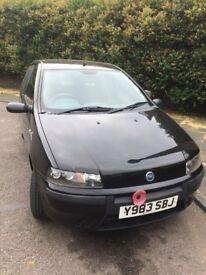 Fiat punto 2001,some damage left side quick MOT until Jan 2019