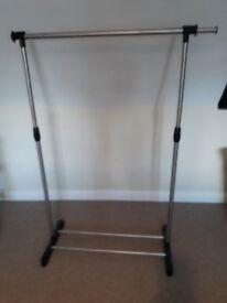 3 clothes rails for sale