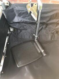 Wheelchair leg rests