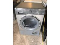 Grey/Silver Hotpoint Condenser Tumble Dryer 7kg Fully Working Order Just £95 Sittingbourne