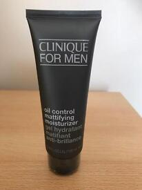 NEW SEALED CLINIQUE FOR MEN Oil Control Mattifying Moisturizer 100ml Fragrance Free