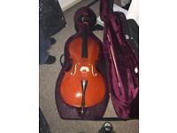 1/2 student cello
