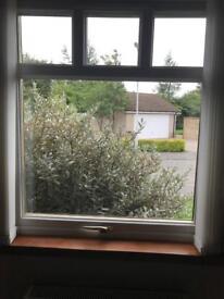 Double glazed window, white uPVC