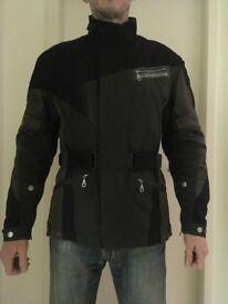 Spidi H2 Out Mens Four Seasons Motorbike Textile Jacket size small