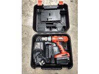 Black & Decker 18v drill for sale