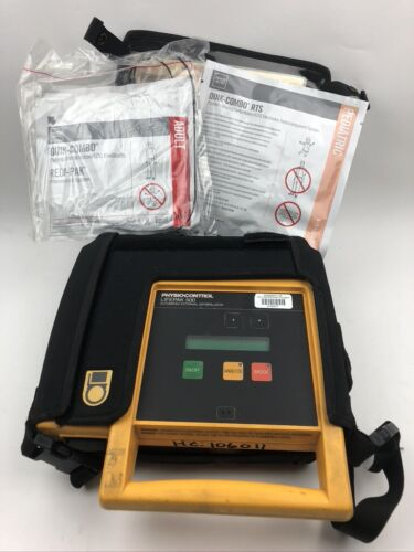 Physio-Control LifePak 500 Automated External Defibrilator w/ Electrodes no batt