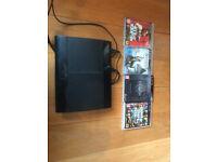 Playstation 3 Super Slim 500gb with Games