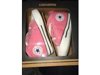 Baby Converse trainers