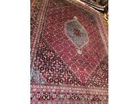 XL Bidjar handmade wool rug rug