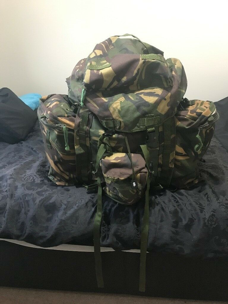 610ee07f22ee British Army Bergen Backpack Never Loads Of Extra Free Items 120l Capacity