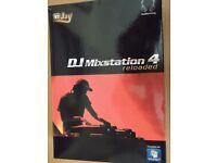 DJ Mixstation 4 Reloaded Brand New With Key