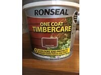 Ronseal Medium Oak Fence Paint 5ltr