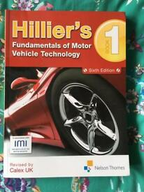 Hilliers motor vehicle book