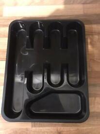 Brand-new cutlery tray