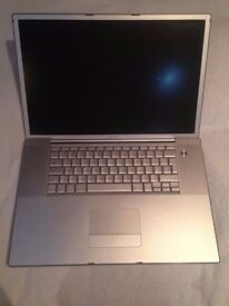Apple Powerbook G4 17-Inch Model A1107 - For Parts/Repair