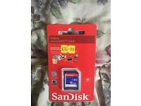 16gb sandisk micro sd card £10