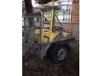 Machine trailer 4/4 foot