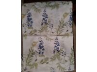 Single duvet cover & pillowcase 2 available white blue yellow green