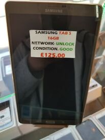 SAMSUNG TAB S 16GB UNLOCKED GOOD CONDITION