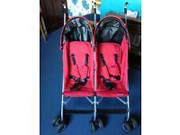 Twin buggy