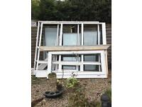 2conservatory side panels and single door