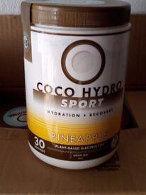 6 TUBS OF COCO HYDRO SPORT DRINK POWDER