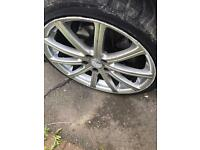 5x112 alloys fit Mercedes golf and audi