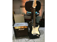 Electric Guitar & Marshall AMP