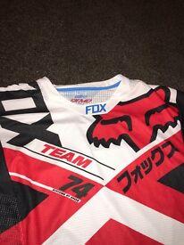 Fox clothing mountain bike jersey - BRAND NEW - size LARGE RRP £50