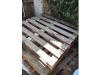 8-9 wooden pallets for Free