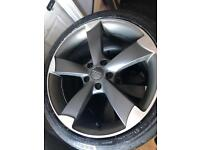 Audi Rotar Alloy Wheels